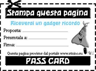 PASS CARD PONTE IMMACOLATA