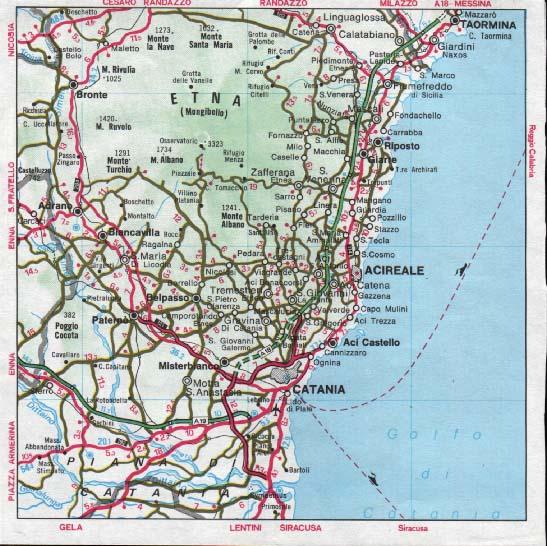 Cartina Dettagliata Sicilia Orientale.Link Partners Di Etnino